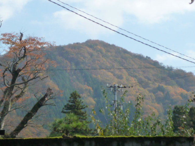秋の三里山